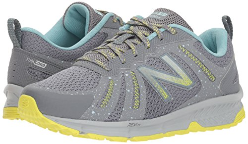 New Balance Women's 590v4 FuelCore Trail Running Shoe, Gunmetal, 5.5 D US by New Balance (Image #6)