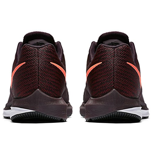 Nike Mens Air Zoom Winflo 4 Scarpa Da Running, Port Wine / Total Crimson-team Rosso-nero, 11