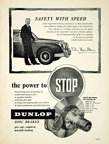 Review 1958 Ad Dunlop Disc