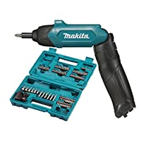 Makita DF001DW Avvitatore Kit 81 Accessori, Blu