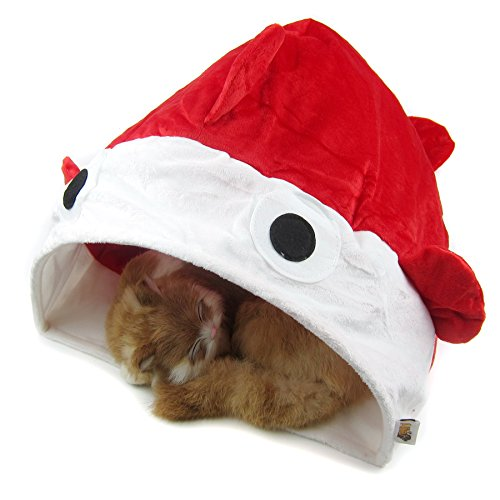 alfie-pet-by-petoga-couture-george-rang-paper-cat-sleeping-snug-color-red