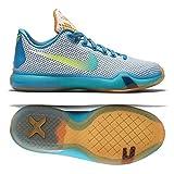 Nike Kobe X 10 Best Deals - NIKE Kobe X 10 (GS) Youth Boys Girls Basketball Shoes 726067-100 (6.5Y)