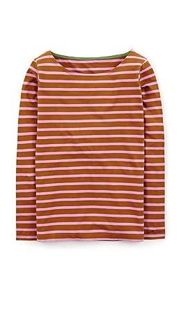e1b701b1f0 BODEN Long Sleeve Breton Striped Shirt Top Tunic Tee Size US 2 at ...