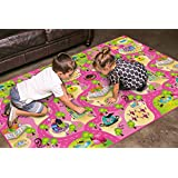Doodoo Play Mat Collections for Kids Toddler Child Baby, Large 79''X47'', EVA, Non-Toxic, Superior Quality, Waterproof, Anti Slip, Easy Storage, Padded Soft Base, Educational, Stimulates Imagination