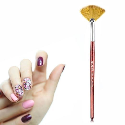 Amazon Inverlee Nail Art Design Fan Brush Painting Flower Uv