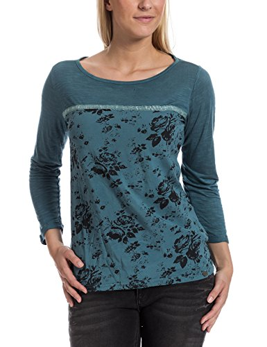 Timezone 12-0422 - Camiseta Mujer Blau (blue stone 3847)
