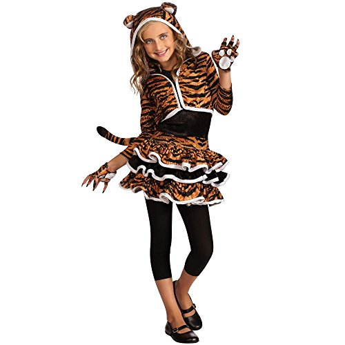Tigress Hoodie Costume - Girls