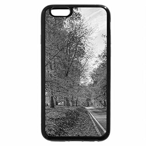 iPhone 6S Plus Case, iPhone 6 Plus Case (Black & White) - AUTUMN ROAD