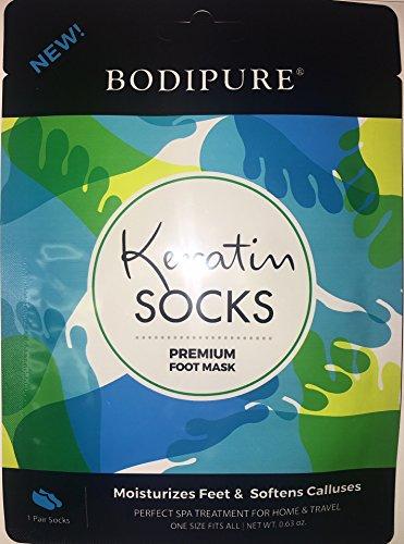 keratin socks foot mask