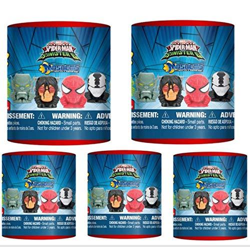 3 pack by T4K Spiderman vs Sinister Six SERIES 2 Licensed Mashems Blind packs
