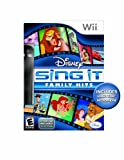Disney Sing It: Family Hits Bundle - Nintendo Wii