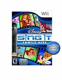 Disney Sing It: Family Hits Bundle - Nintendo Wii