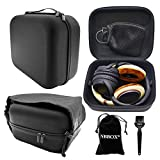 Cheap Nbbox Full Size Hardshell Earphone Headset Headphone Protection Case For ASTRO Gaming A30 A40 A50 Headset and Logitech G230 Stereo Gaming Headset With Storage Bag, Brush, Velvet Bag