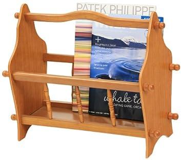 frenchi home furnishing magazine rack in oak - Home Furnishing Magazine