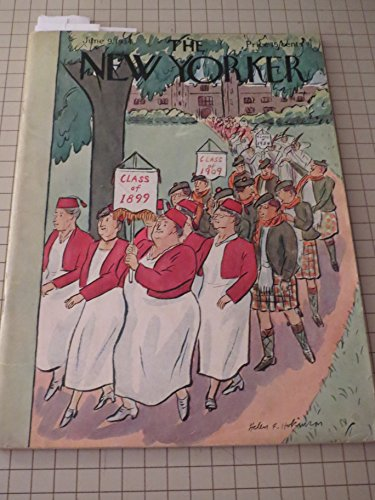 June 9,1934 The New Yorker Magazine:James Thurber - Thyra Samter Winslow - Boxer Max Baer - Paul Gallico - Ernest Boyd - Robert Benchley - Mildred Gilman - Stewart's Cafeteria,New York City - Sherwood Anderson - Genet