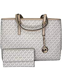 MICHAEL Michael Kors Jet Set Travel Large EW Tote bundled with Michael Kors Jet Set Travel