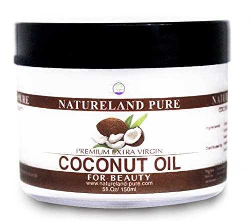 Essential Oil for BEAUTY and HEALTH - Pure Coconut Oil For Skin - Raw Extra Virgin Coconut Oil For Hair Moisturizer - Dry Skin Face Moisturizer For Dry Skin Body Moisturizer - Cold Pressed Coconut Oil