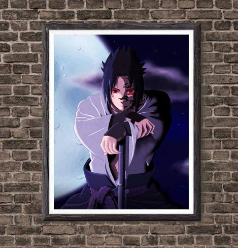 N-8 Naruto Shippuden Poster Classic Japan Anime Wall Decor