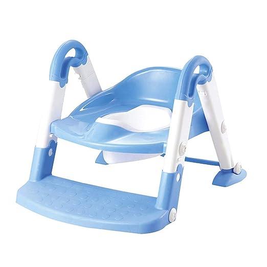 slhp de WC Trainer bebé Potty orinal Trainer plegable de inodoros asientos Escalera orinal Asiento Infantil Asiento de inodoro: Amazon.es: Hogar