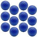 BCQLI Practice Golf Balls, Foam, 12 Count, Blue