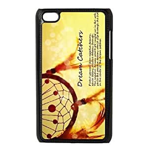 Hnxhk Unique Design Cases Ipod Touch 4 Cell Phone Case Dream Catcher Printed Cover Protector