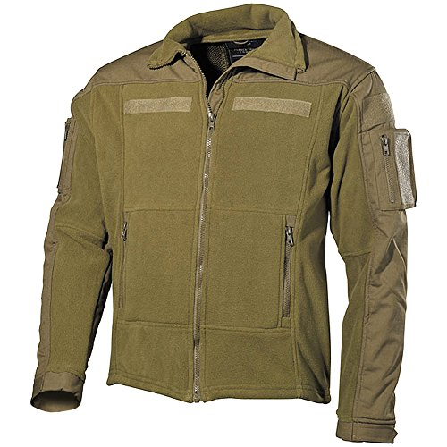 b69ad5d0378 MFH Men s US Combat Fleece Jacket Coyote Size L
