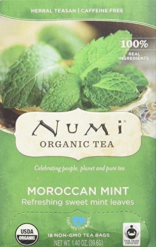 - Numi Teas Organic Teas and Teasans, Moroccan Mint