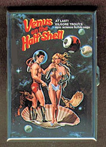 Venus On The Half Shell Sci-Fi Pulp Stainless Steel ID or Cigarettes Case (King Size or 100mm)