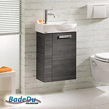Amazon.de: Fackelmann Gäste WC Set COMO / Waschbecken mit ...