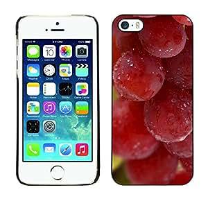 TopCaseStore / la caja del caucho duro de la cubierta de protección de la piel - Plant Nature Forrest Flower 65 - Apple iPhone 5 / 5S