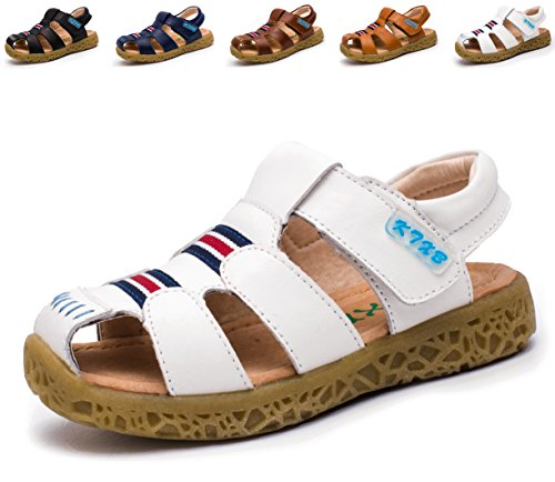 74febb7eb Giotto Closed Toe Leather Kids Summer Outdoor Sport Beach Sandals(Toddler Little  Kid)