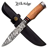 Personalized Free Engraving - Quality Elk Ridge Fixed Blade Knife
