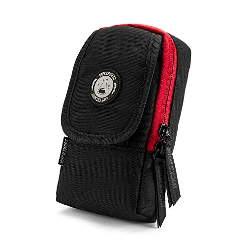 Primo Case (Black/Red) - Mech Mod Holder, Box Mod Vape Case, Premium Vape Bag, Portable E-Cig Case, Vape Travel Case, E-Juice, PAX, Aspire, Sigelei Box Mod (Aspire E Juice)