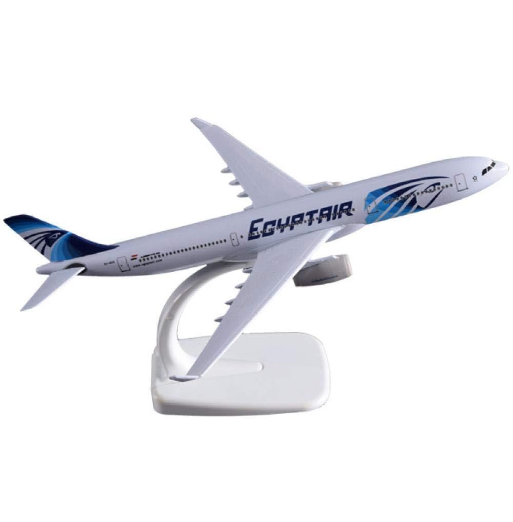 20cm A330 Egypt Alloy Airplane Model Egypt 330 Airbus Model Aviation Creative Children Adult Gift Travel Souvenir