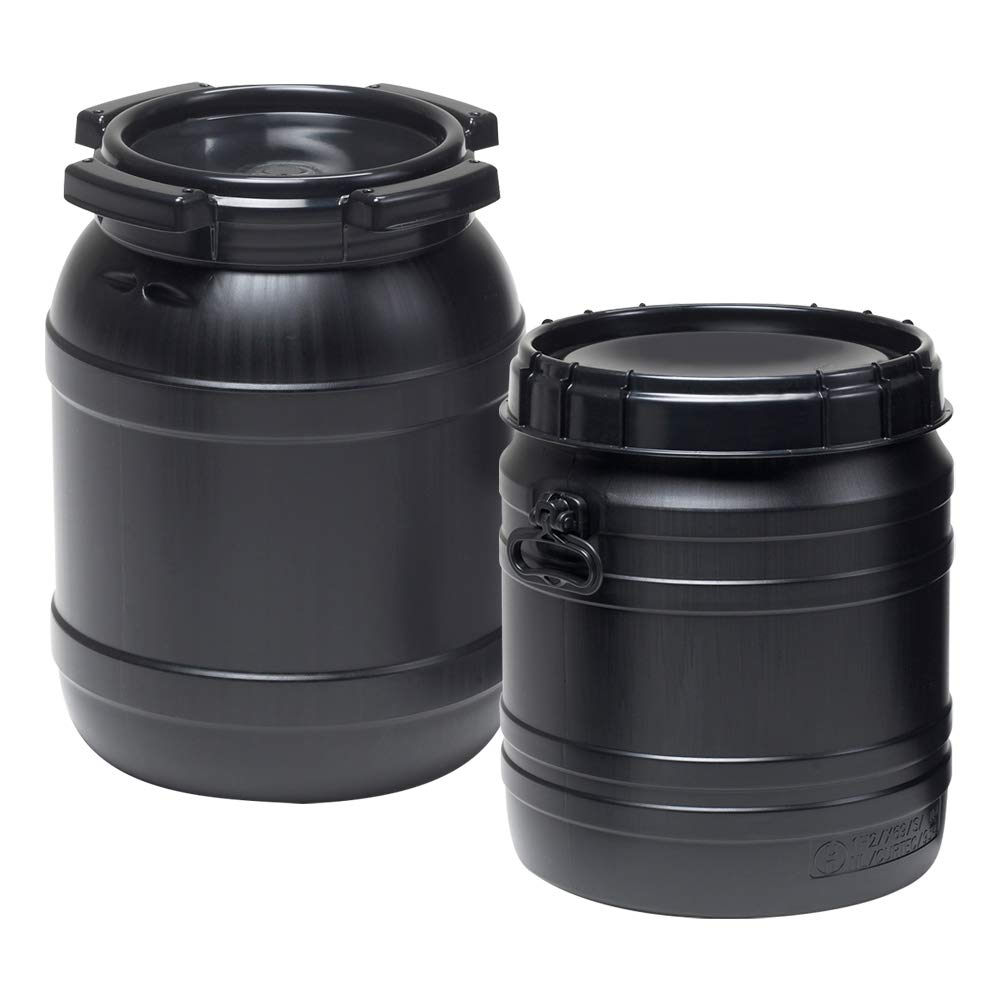 1.6 Gallon Wide Mouth Stackable HDPE Drum w/Lid by Product Conect (Image #2)