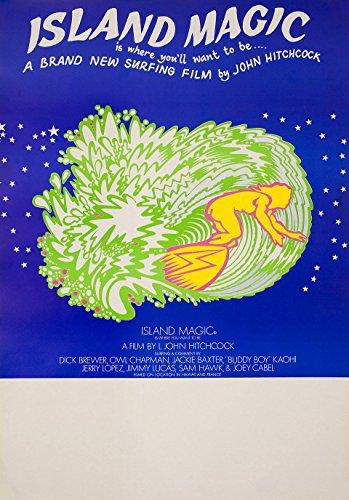 Island Magic 1972 Australian Poster