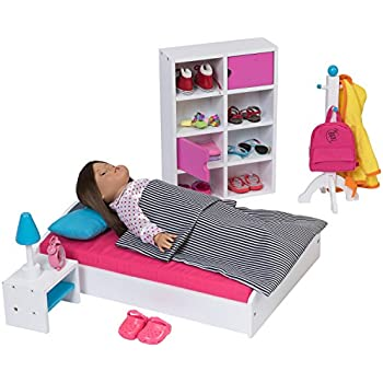 Amazon Com Click N Play Doll Salon Chair And Accessories