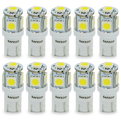 safego-t10-led-white-w5w-5-smd-5050-super-bright-194-168-2825-wedge-led-car-lights-source-replacemen