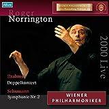 ウィーン・フィル ライヴ・エディション 24 : ウェーバー、ブラームス、シューマン (Wiener Philharmoniker Live Recording Edition 24 ~ Brahms : Doppelkonzert   Shumann : Symphonie Nr.2 / Roger Norrington) [2000 Live]