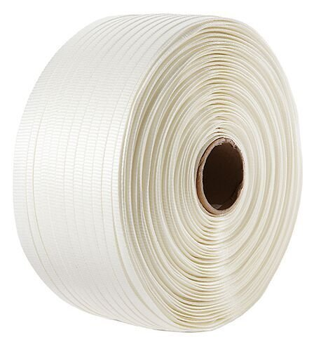 TSS Packaging TSS.CW12.650 1/2'' Heavy Duty Woven Poly Cord Strapping, 3900', 650 lb, 6'' x 3'' Core by IDL Packaging