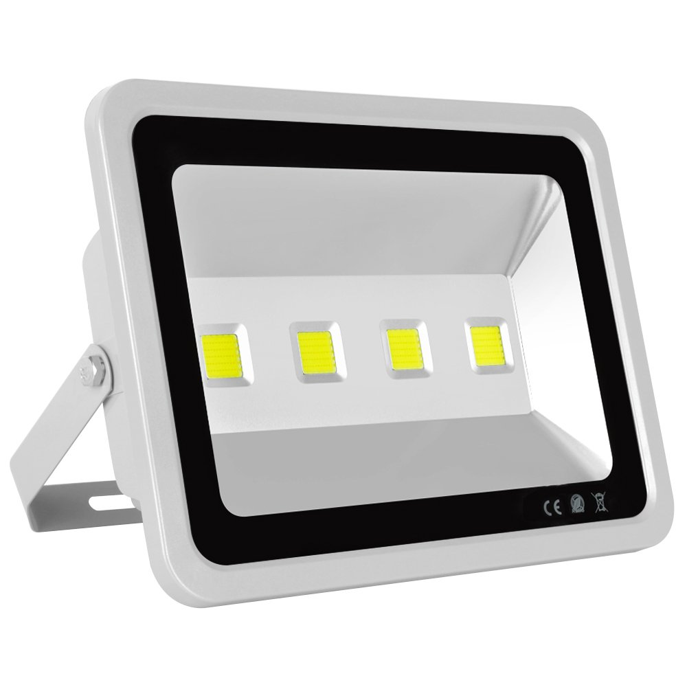 MORSEN Led Flood Light, 200W Outdoor Waterproof IP65 20000lm Super Bright Flood Lamp Cool White 6000K Spotlight Lamp Daylight for Garden Yard, Party, Playground