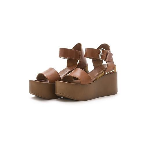 comprare on line comprare A basso prezzo KAMMI - Sandali Carolyn - Cuoio, 36: Amazon.it: Scarpe e borse