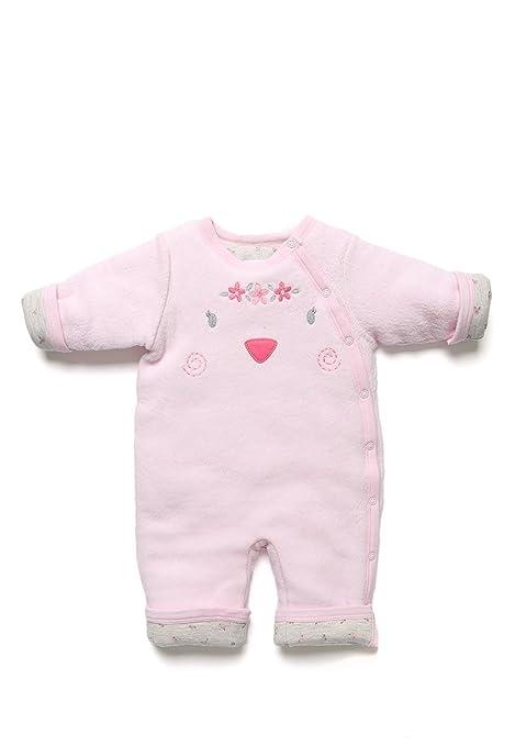c425535dbe41 Baby Creysi Comando Rosa Reversible Cerdito Mameluco para Niñas Rosa Talla  12 M  Amazon.com.mx  Bebé