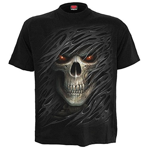 Spiral Heren Gothic T-Shirt Totenkopf - Tribal Death