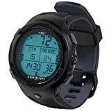 Aqua Lung i450t Hoseless Air Integrated Wrist Watch Dive Computer w/USB, Black