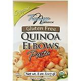 Tresomega Organic Gluten Free Quinoa, Elbows Pasta, 8 Ounce