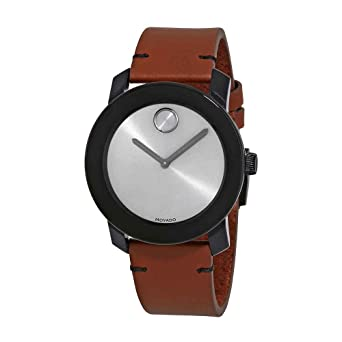 1b0273c00 Amazon.com: Movado Men's Bold - 3600442 Black Tr90/Stainless Steel One  Size: Watches