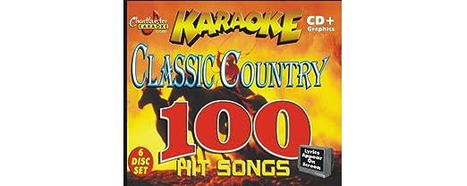 Chartbuster Karaoke Classic Country Volume 1 CD+G CD