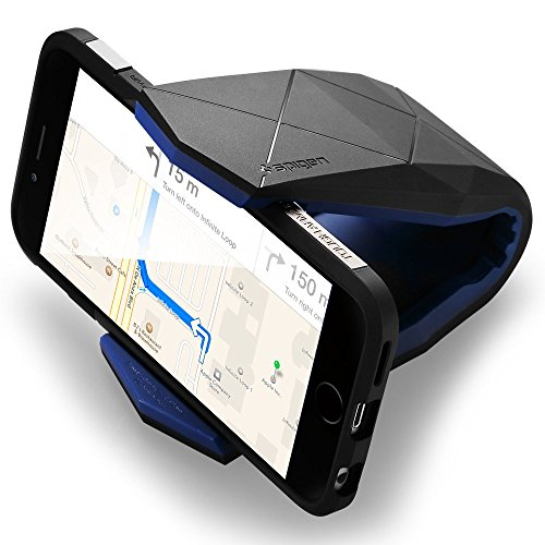 Car Mount, Spigen® [Stealth] Car Mount Holder [Only Landscape] Car Mount Phone Holder for Galaxy Note 7 S7 S6 S5 Edge LG G5 G4 Nexus 5x 6P iPhone 6s 6 SE plus HTC 10 (SGP11359)