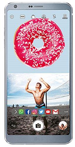 LG G6  Ice Platinum, FullVision
